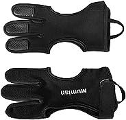 Archery Glove for Men Women, Archery Glove Finger Three Finger Guard, Finger Protection Shooting Hunting Targe
