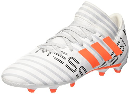 adidas Mädchen Nemeziz Messi 73 FG J Fußballschuhe Mehrfarbig (Ftwr White/solar Orange/clear Grey )