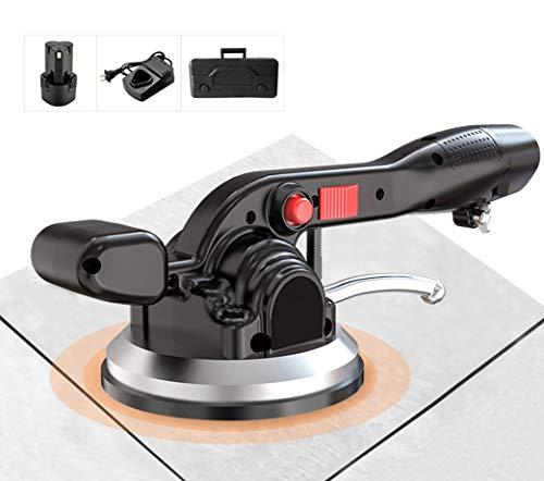 YJINGRUI Máquina para hacer mosaicos de azulejos 19000VPM Vibrador de azulejos de mano para azulejos Mejora 6 engranajes 4500mA Adecuado para azulejos de 11.8 -47 (1 batería)