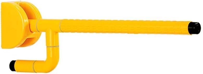 FSS Shower Grab Bars Handrail Barrier-Free Nylon Folding Handrail Old Man Hand Toilet Bathroom Basin Safety Fence Folding Handle (Color : Yellow) 41HfFO-xP-L