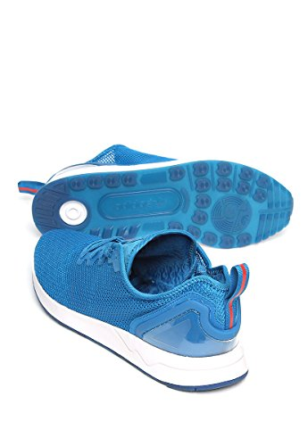 adidas Men's Zx Flux Advance Sl S76555 Trainers Blue/Black/White wm90bU