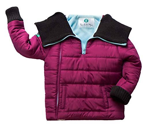 Buckle Me Baby Coats | Car Seat Winter Jacket Toddler Boy Girl Purple (2T)