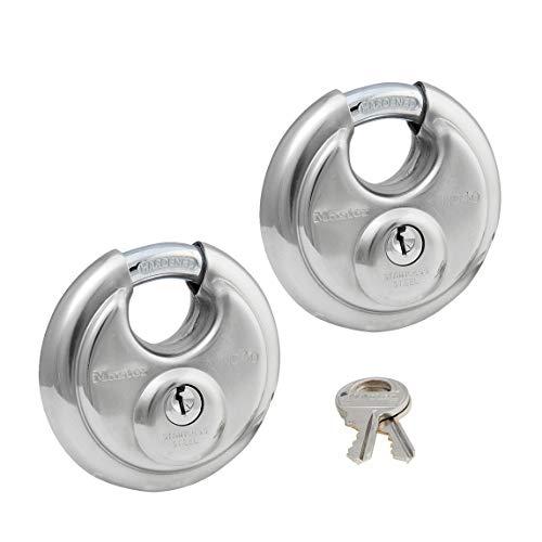 Master Locks - Keyed Alike Stainless Trailer Locks 40KA-2 Pack ()