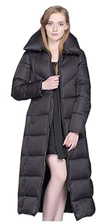 Amazon.com: UAISI Women Thick Goose Down Coat Long Winter