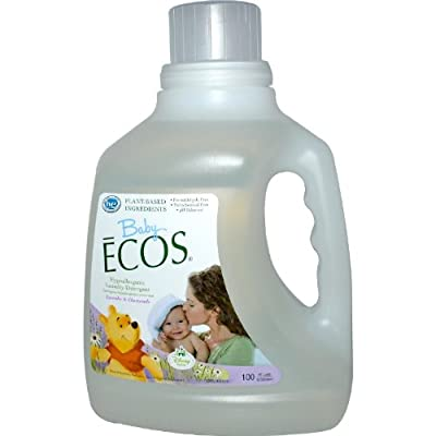 Earth Friendly Products Baby Ecos Laundry Liquid, Chamomile & Lavender 100 fl. oz. (a)