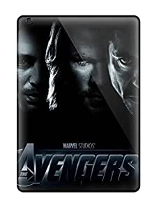 Rugged Skin Case Cover For Ipad Air- Eco-friendly Packaging(avengers)