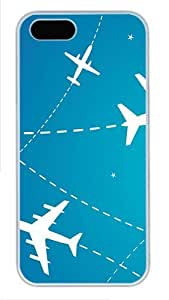 Case For Sam Sung Note 2 Cover and Cover -Flight Paths PC Case For Sam Sung Note 2 Cover ?¡ìC White