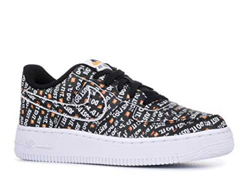 best website f8415 5f33a Nike Air Force 1 JDI Premium Black Total Orange-White (GS) - Import ...