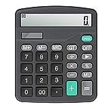 Calculator,Vilcome 12-Digit Solar Battery Office
