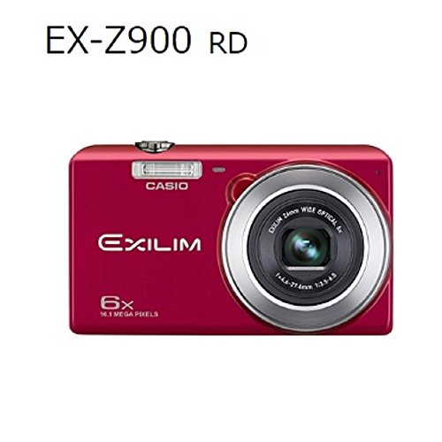 CASIO(カシオ) デジタルカメラ EXCILIM レッド EX-Z900 RDの商品画像