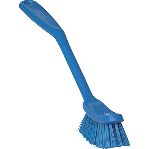 Vikan 42873 Fine Sweep Dish Brush, Polypropylene, Polyester Bristle, 11