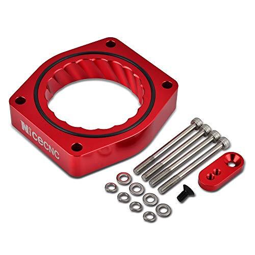 Iris-Shop - Car Auto Throttle Body Spacer Intake Manifold For GMC Yukon Sierra 1500 4.8L 5.3L 6.0L For Hummer H3 H2 3.7L 5.0L - Manifold 1500