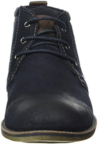 s.Oliver 15106, Botas Chukka para Hombre Azul (NAVY 805)