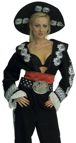InCogneato Women's The Three Amigos Deluxe Costume (Amigo Costume)
