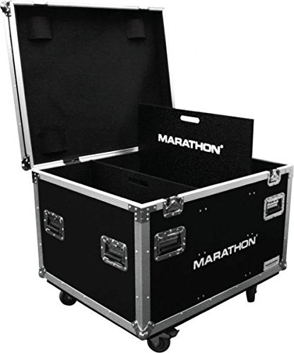 Marathon Flight Road Case MATUT303724W Utility Trunk Case with Caster Kit and Stackable Caster Dish by Marathon