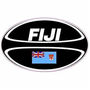U s custom stickers fiji rugby ball sticker 6