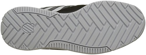 Charcoal Black Homme Baskets K White Swiss Baxter Noir qttXYE