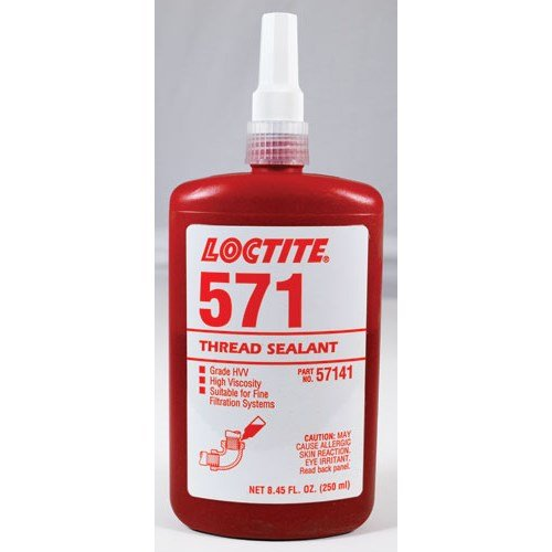 Loctite 57141 Threadsealant 571 Pipe Sealant Hvv 250Ml by Loctite