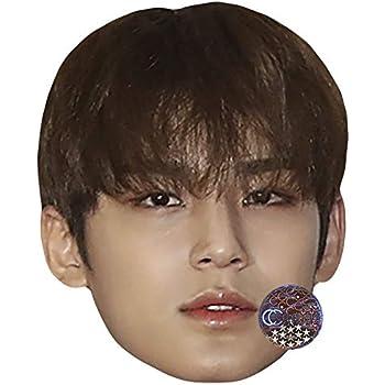 Card Face and Fancy Dress Mask SEVENTEEN Hoshi Celebrity Mask