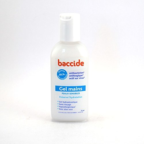 Amazon Com Baccide Anti Bacterial Gel For Sensitive Skin 75 Ml
