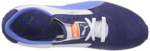 Puma Women's Retro Jogger Basic Sports WN's Low-Top Trainer Blue - Blau (Crown Blue-white-ultramarine 03) Oo393WoW9