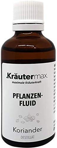Kräutermax Koriander Tropfen 1 x 50 ml Coriandrum Sativum Samen