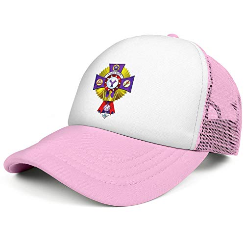 WENL York Rite College Emblem Unisex Mesh Snapback Hats Novelty Adjustable Trucker Cap]()