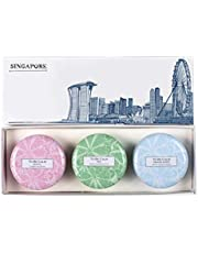 To Be Calm Singapore Skyline - Mini Candle Trio