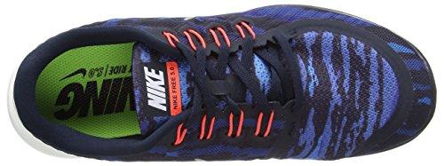 Nike Free 5.0 Print -  para hombre Dark Obsidian/White-Hot Lava