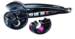 BaByliss Curl Secret 2 C1300E Rizador de pelo automático con 2 cabezales, 100% automático, doble calentador cerámico, consigue rizos, bucles y todo tipo de ondas, Color Negro