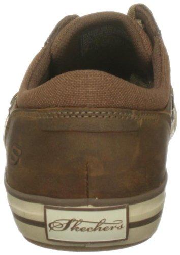 Skechers Chaussures Marron Planfix creons Foncé Homme Basses Png4PFrxwO