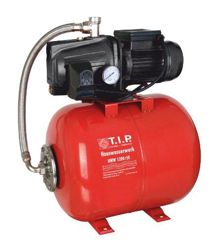 T.I.P. 31112 Hauswasserwerk HWW 1200/50 mit 50 Liter Tank