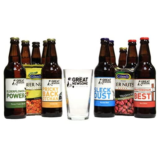 41HfPbQwoHL Great-Newsome-Brewery-Pub-Box-10-x-500ml-Bottles-Snacks-and-Branded-Pint-Glass