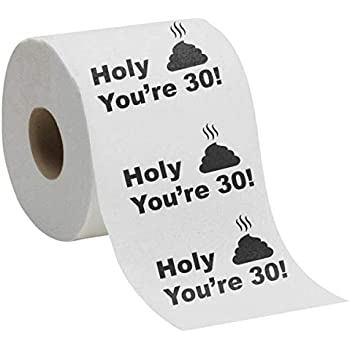 60th birthday toilet roll novelty gift present funny