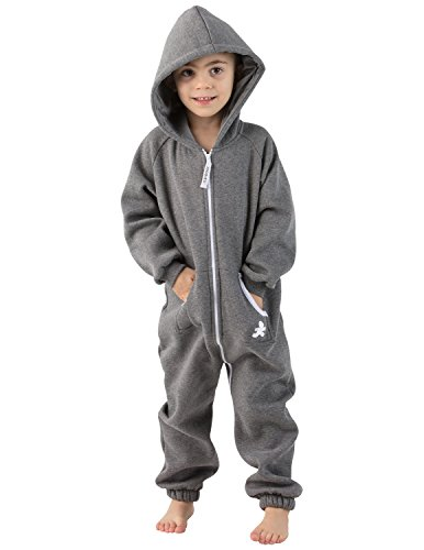 ootless Gray Onesies for Toddler (XL) (Footless One Piece)