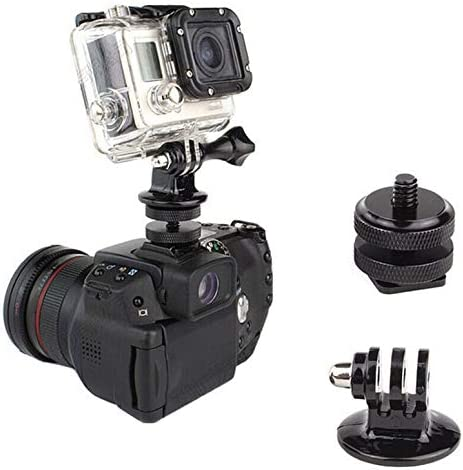 ArgoBar Durable Mini 1//4Hot Shoe Adapter With Tripod Mount Adapter for Gopro Hero SLR Camera Accessories Using