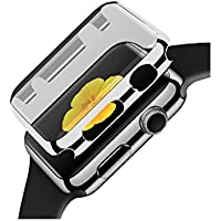 For Apple Watch Protector, HP95(TM) Luxury Ultra-Slim Electroplate PC Hard...