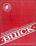 1991 Park Avenue Ultra Supercharged 3800 Engine Repair Shop Manual Supp.