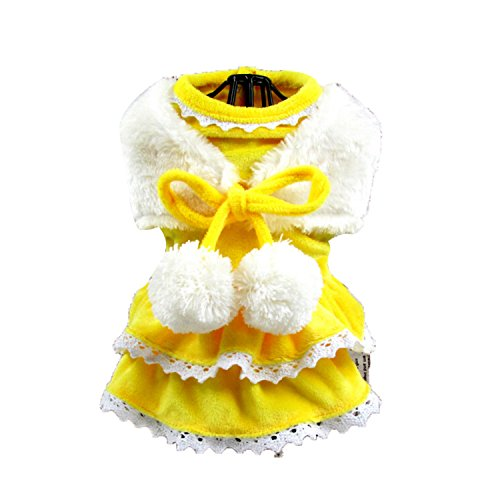 Ewok Costumes Toddler (Boomtrader Pet Costume Puppy Dog Winter Furry Costume Cat Costume Dog Christmas Costume)