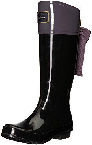 - Joules Women's Evedon Tall Boot Slate Grey Rubber 8 B US
