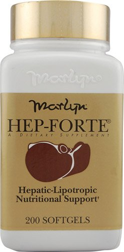 Naturally Vitamins Marlyn® Hep-Forte® -- 200 Softgels - 2PC by Naturally Vitamins