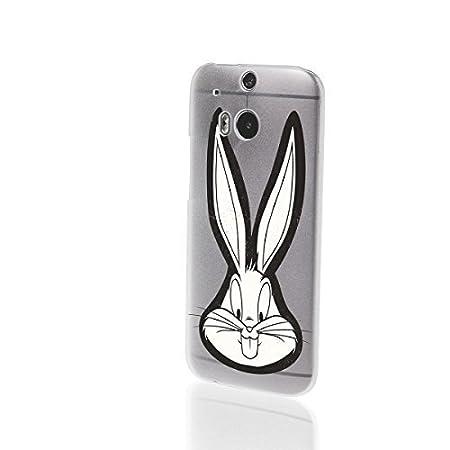 3636ed4d085a Finoo HTC One M8 M9 Hard Case Looney Tunes Bugs Bunny Series 1