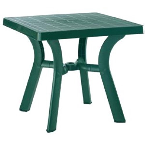 Compamia Viva Resin Square Dining Table 31 Inch (Green) (29