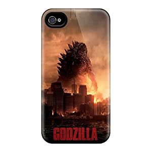Great Hard Cell-phone Cases For Iphone 6plus With Custom Attractive 2014 Godzilla Image LauraAdamicska