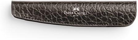 Faber Castell 189310 Lederetui für e-motion Drehstifte, genarbt, braun