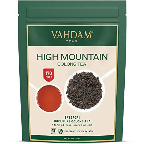 Hojas de Te Oolong de Alta Montana de Himalaya (150 tazas), 340gr, TE OOLONG PARA PERDIDA DE PESO, 100% de te de desintoxicacion natural, te para perder peso, te para adelgazar Te de hojas sueltas