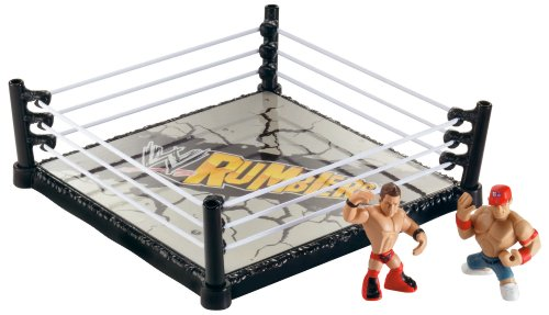 WWE Rumblers Ring With John Cena and The Miz - Wwe Storage