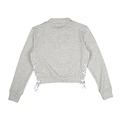 Chemisier Shirt Ladies Capuche Capuche Longues Pullover Manches Classics Femme DBardeur Gris Pull Femme VJGOAL Sweat Hoody Pull xIv8OO