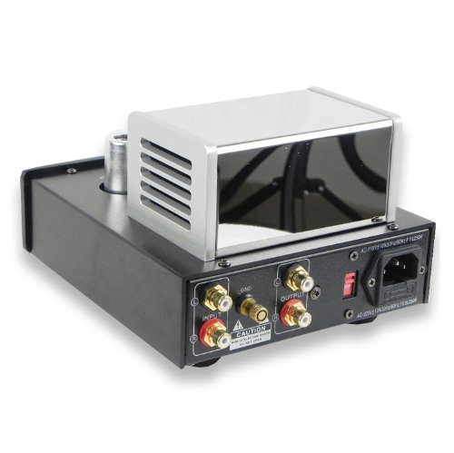 YAQIN MS23B Upgraded Version of MS22B 12AX7B X2 Stereo Tube Phono Stage (MS23B)