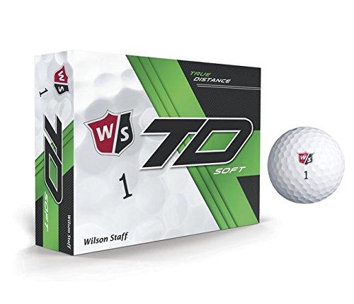 Wilson True Distance W/S True Distance Soft WH 12-Ball, White